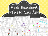 Fourth Grade Math Standards Task Cards