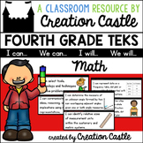 Fourth Grade Math TEKS - Can and Will Standards Statements