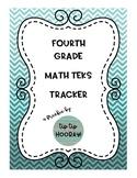 Fourth Grade Math TEKS Tracker