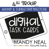 Fourth Grade Math Task Cards ~ Adding and Subtracting Fractions