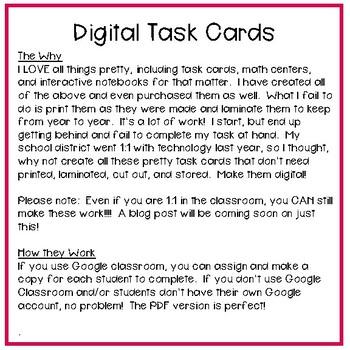 Fourth Grade Math Task Cards ~ Additive Angles