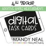 Fourth Grade Math Task Cards ~ Additive Angles