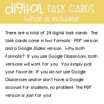Fourth Grade Math Task Cards ~ Area and Perimeter