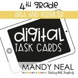 Fourth Grade Digital Math Task Cards ~ Area and Perimeter