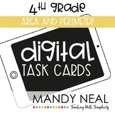 Fourth Grade Math Task Cards ~ Area and Perimeter