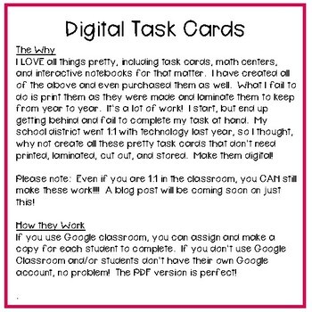 Fourth Grade Math Task Cards ~ Converting Linear Measurements