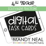 Fourth Grade Digital Math Task Cards ~ Equivalent Fraction