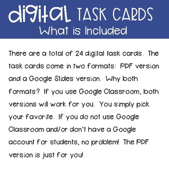 Fourth Grade Math Task Cards ~ Measurement and Problem Solving