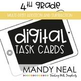 Fourth Grade Digital Math Task Cards ~ Multi-Digit Additio