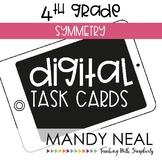 Fourth Grade Digital Math Task Cards ~ Symmetry | Distance