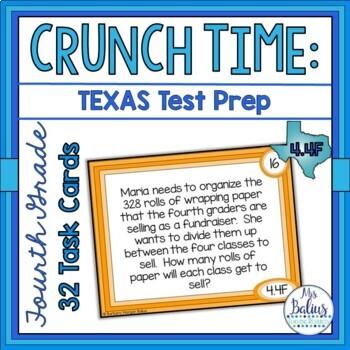 Fourth Grade Math Division Test Prep CCSS 4.0A.A2 TEKS 4.4F