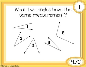 Fourth Grade Math Test Prep: Measuring Angles 4.7C 4.MD.C6