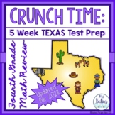 Fourth Grade Math Test Prep: STAAR Assessment CRUNCH TIME