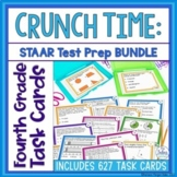 Fourth Grade DIGITAL Math Texas Test Prep Task Cards BUNDL