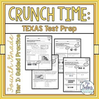 Fourth Grade Math Test Prep Tier I: Guided Practice 4.3E