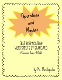 Fourth Grade Math Test Preparation (OA) *SAMPLE*