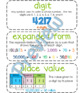Fourth-Grade Math Vocabulary {My Math Series - Unit 1}{CCSS aligned}