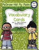 Fourth-Grade Math Vocabulary {My Math Series - Unit 2}{CCS