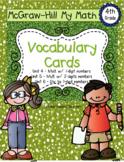 Fourth-Grade Math Vocabulary {My Math Series - Units 4, 5,