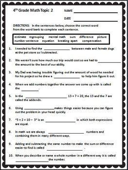 Gutsy image with regard to envision math workbook grade 5 printable