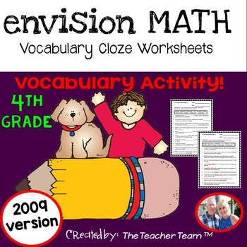 Envision Math Fourth Grade Test Worksheets Teaching