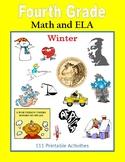 Fourth Grade Math and ELA (Winter)