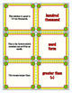 Fourth Grade Math in Focus 4A Vocabulary Flashcards