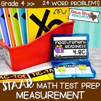 Fourth Grade Measurement Math Test Prep Review Game   Fourth Grade TEKS