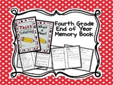 Fourth Grade Memory Book (End of Year Book)