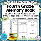 4th Grade Memory Book - Tales of a Fourth Grade Someone Me