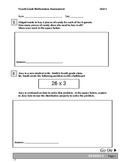 Fourth Grade Multiplication Assessment