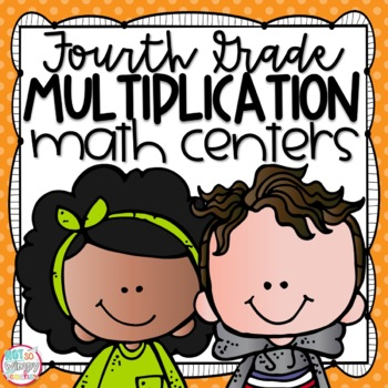 Multiplication Fourth Grade Math Centers