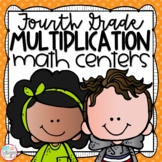 Multiplication Fourth Grade Math Centers