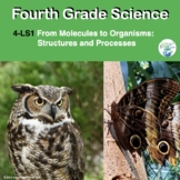 Fourth Grade Life Science NGSS Unit in Pdf and TpT Easel