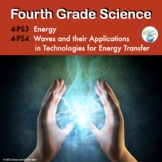 Fourth Grade Physical Science NGSS in Pdf and TpT Easel Ready