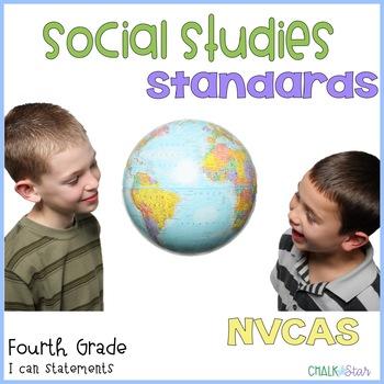 Social Studies Standards Fourth Grade Nevada
