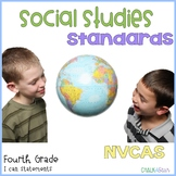 Social Studies Standards 4th grade NVCAS