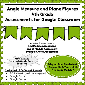 Engage NY Fourth Grade New York State Math Module 4 Assessment
