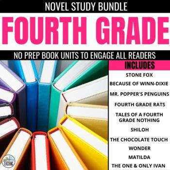 4th Grade Foldable Novel Study Units: The No Prep Literatu