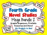 Fourth Grade Novel Studies Mega Bundle 2