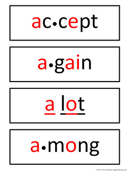 Fourth Grade Personal Spelling Word Wall + 38 Matching Word Wall Cards