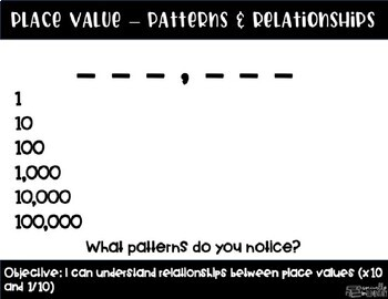 fourth grade place value powerpoint number patterns and relationships. Black Bedroom Furniture Sets. Home Design Ideas