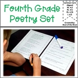 Distant Learning Packet- 4th Grade Poetry Set