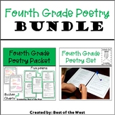 Fourth Grade Poetry BUNDLE