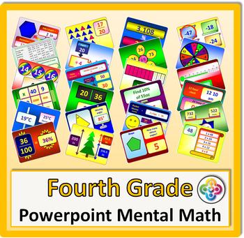 4th Grade Powerpoint Mental Math