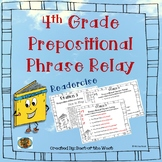 Fourth Grade Prepositional Phrase Relay