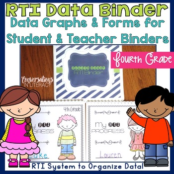 RTI Data Tracking Forms Binder: for Teachers and Students Fourth Grade