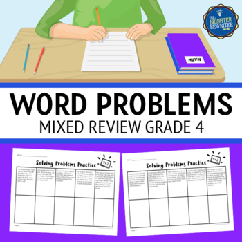 4th Grade Mixed Word Problems