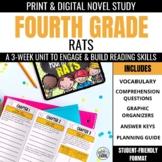 Fourth Grade Rats Novel Study Unit