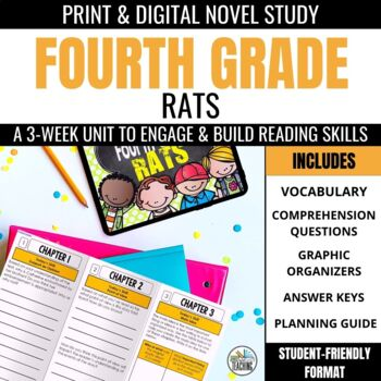 Fourth Grade Rats Novel Study Unit